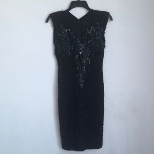 80's Vintage Party Girl Dress